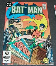 "BATMAN 368-VF/NM 9.0 Crazy Quilt ""Introducing Robin the Boy Wonder"" Alcala"