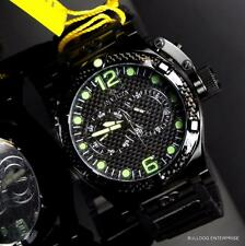 Mens Invicta Corduba Ibiza Carbon Fiber Chronograph Black Watch New W/ Warranty
