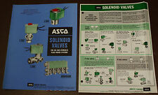 ASCO Catalog Automatic Switch Co 1965 Solenoid valves AIR HYDRAULIC FLUID SYSTEM