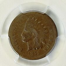 1877 INDIAN HEAD CENT PCGS GOOD-4 (SCRATCH ABOVE THE EAR, SOLD AS IS NO RETURNS