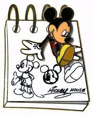 2014 Disney HKDL From the Sketch Pad Mickey Pin Rare N2