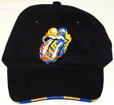 "ROLLING STONES, The HAT/CAP Black ""40 Licks"" Authentic Licensed NEW"