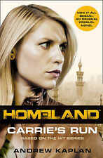 Homeland: Carrie's Run BRAND NEW BOOK by Andrew Kaplan (Paperback, 2013)