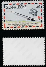 Sierra Leone (1427) 1984 UPU Congress - Concorde 4L -  a Maryland FORGERY unused