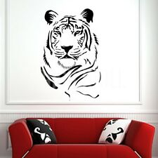 Tiger Face Wall Sticker Vinyl Decal Wall Art Transfer Living Any Room & Colour