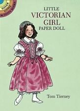 Cut-Out Paper Doll: EMILY, LITTLE VICTORIAN GIRL, 8 outfits, lots of activities