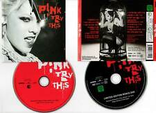 "PINK ""Try This"" (CD+DVD) 2003"