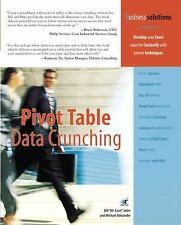Pivot Table Data Crunching - Jelen, Bill - Paperback