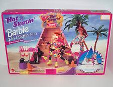 1995 MATTEL-ARCO TOYS Hot Skatin' BARBIE 2-In-1 Skatin' Fun PLAYSET #67275 ~NRFB