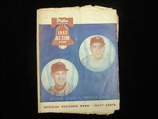 1952 Baseball All Star Game @ Philadelphia Program