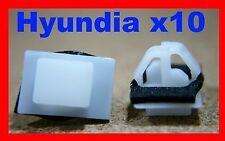 10 Hyundai sill rocker cover flare mould faster clips