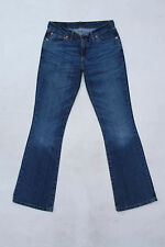 LEVIS 529 LADIES VTG Faded Bootcut Blue Denim Stretch Jeans Red Tab W30 L34 Uk12