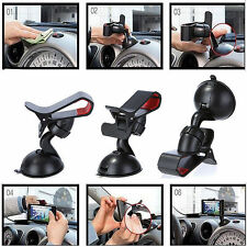 Universal 360°Rotating Car Windshield Mount Holder Stand For  Phone GPS PDA Mp4