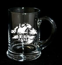ENGLISH BULL TERRIER - Boxed CRYSTAL PINT TANKARD *DOG GIFT*
