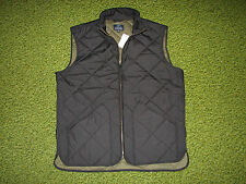 $150. Men's Black Quilted Vest (XS) J. CREW