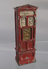 JOHILLCO VINTAGE LEAD PREWAR RAILWAY STATION TICKET MACHINE HORNBY TRAINS