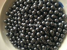 Wholesale 100/500/1000pcs 10mm ABS No hole Pearl Round Spacer Loose Bead 22color