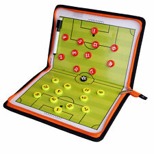 Precision Training Magnetic Pro Soccer Coaches Board Tactic Folder PU Leather