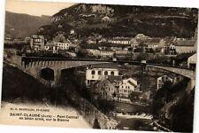 CPA Saint-Claude-Pont Central en béton armé, sur la Bienne (263804)