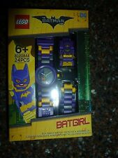 Batgirl LEGO Buildable Watch Batman the Movie 8020844 Brand New 24 pieces