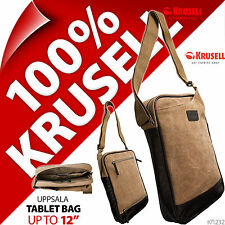 "New Krusell Uppsala 12"" Messenger Shoulder Bag Tablet Fits Apple Ipad 2 3 4 Air"