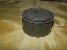 WWII Fuel Tablet Ration Heating Tin-Unused and in Nice Shape.