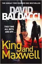King and Maxwell by David Baldacci, Book, New (Paperback)