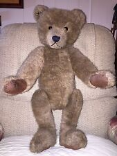 Estate Fresh Vintage Hand Crafted Pale Brown Teddy Bear GERMANY?