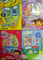 Nickelodeon Sticker Paradise (6 Sheets & Album) Spongebob SquarePants or Dora