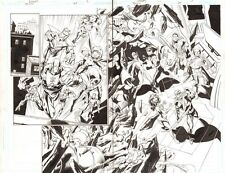 Trinity #25 p.2&3 - Green Arrow, Lex Luthor vs the JSI DPS - 2008 by Mark Bagley