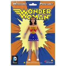 WONDER WOMAN Bendable Posable Super Hero TV DC Comics toy Action figure BENDY