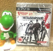 RARE - INCLUDES POSTER - Metal Gear Solid 4: 25TH ANNIVERSARY FACTORY SEALED NEW