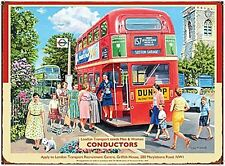 London Transport Conductors fridge magnet   (og)