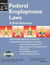 Federal Employment Laws: A Desk Reference-ExLibrary