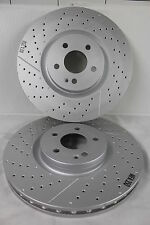 Genuine Mercedes-Benz W176 A-Class FRONT A45 AMG Brake Discs A1764210212 X2 NEW