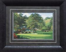 Larry Dyke The Eleventh at Augusta Golf Print-Framed-19 x 15