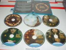 THE LORD OF THE RINGS: Motion Picture Trilogy on Blu-ray Disc 6 disc set
