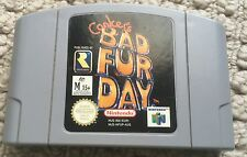 Conker's Bad Fur Day (Nintendo 64, 2001) RARE n64 PAL Cartridge Game Only