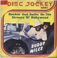 "BUDDY MILES - Rockin' and rollin' on the streets - VINYL 7"" 45 LP 1975 NM/ VG-"