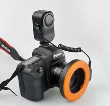 Pro Photo W48 LED Macro Ring continuous Flash Light for CANON NIKON Camera DSLR