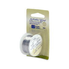 Artistic Wire Stainless Steel 32 Gauge 30 Yard Dispenser 43095 Round