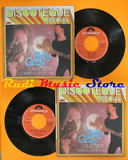 LP 45 7'' BILLY GRAY Can't stop Writing on the wall 1973 italy POLYDOR cd mc dvd