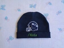 Seattle Seahawks Personalized Baby Hat (0-2 year)