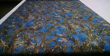"CAMO MC2 BLUE TRUE TIMBER MOISTURE WICKING FABRIC 58"" 4-WAY STRETCH KNIT HUNTING"