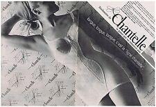 PUBLICITE ADVERTISING 104 1966 CHANTELLE gaine combiné (2 pages)