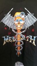 MEGADETH 1993 Dr. Vic vintage licensed Realm of Deth concert long-sleeved shirt