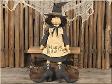 Primitive Vintage Witch by Honey and Me