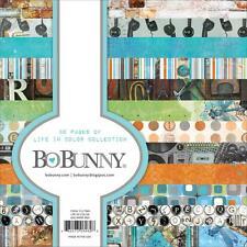 "Bo Bunny LIFE IN COLOR - 6x6"" Paper Pad - 36 pp - Cardmaking"