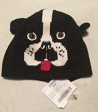 Gymboree Firehouse Hounds Boys Dog Sweater Hat Size 2T-5T Puppy Nwt