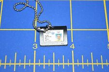 """1/6 scale Police Swat Neck ID Badge W/ Case Holder for 12"""" Action Figures C-225"""